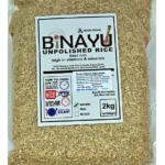 Bruine Volkoren Rijst Binayu – 2 Kg