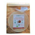 Kokosnoot Tortilla Bio Wrap (Inhoud 4 Stuks)