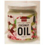 KokoKitchen Extra Virgin Biologische Kokosolie – 500ml